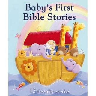 (Brand New) Baby's First Bible Stories ( 12 favourite stories )