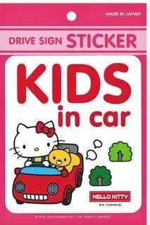 Hello Kitty車用安全貼