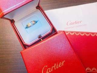 Cartier love ring 3 diamonds 💎