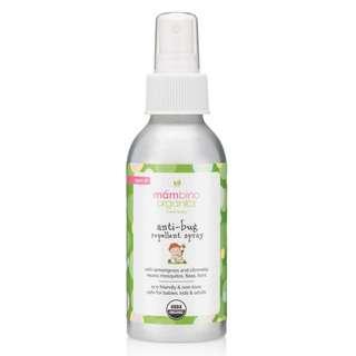 Mambino Organics, Anti-Bug Repellant Spray, Lemongrass + Citronella 79ml / 2.7oz (Exp 02/2021)
