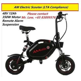 AM Tempo Electric Scooter