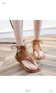 🚚 (全新)美國爆款綁帶鞋