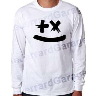 Smiley Martin Garrix Long Sleeve T-Shirt (Unisex)