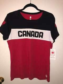 Canada Olympic shirt