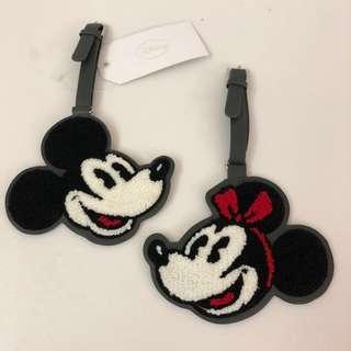 Mickey & Minnie 行李牌