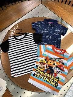 Boys' Tops (fit 2-3 yrs old)
