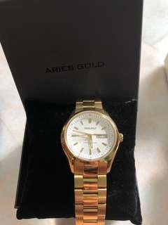 Aries Gold automatic gold Watch