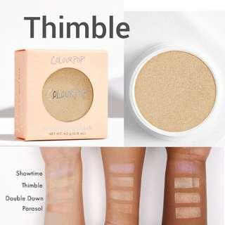 BNIB Colourpop Thimble Super Shock Highlighter