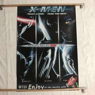 X-MEN ORIGINAL MOVIE POSTER