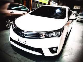 2016 Toyota altis s+