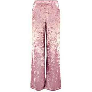 Velvet Wide legged Pants