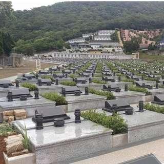 龍巖-戶外墓園 白沙灣安樂園-印象花園B區(尊榮) 火化土葬 可放36灰 ( 含永久管理費 及 過戶費 )