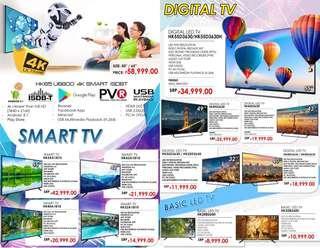 HKTV (Smart TV, Digital TV and Basic LED TV)