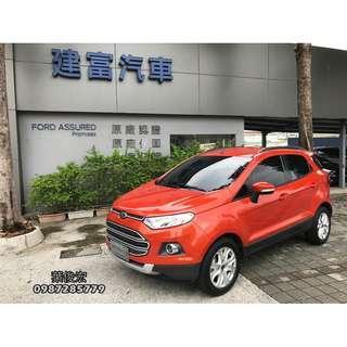 福特原廠認證中古車2014年Ford Ecosport 1.5汽油 都會輕休旅 影音升級 原廠認證