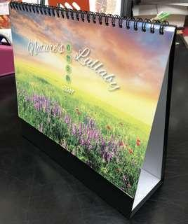 "🚚 SINGAPORE MADE-[Big Desk Calendars 2019]-Nature's Lullaby-10.5"" x 9""/Almost A4 size/8 sheets [Free local Mail] 🇸🇬 Singapore Public Holidays, Singapore School Holidays"