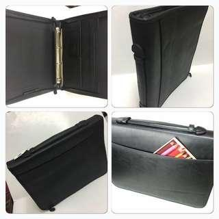 🚚 A4 Ring Zipper Portfolio (With Compartments)/A4 Zipper Folders/A4 Folders/Free Local Delivery
