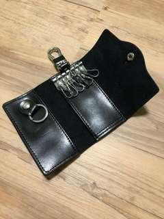 🚚 🌟Cow Split Leather-Key Pouch/Size : (10.8cm x 6.5cm x 2.2cm Thick)