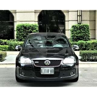 2008年 福斯 五代GTI 全原版件 僅跑3萬 1500KM原廠保養一次