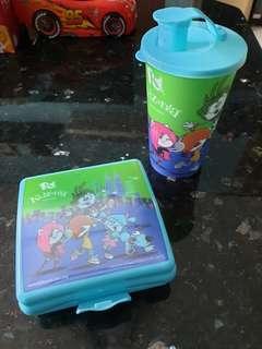 NEW KIDZANUA LUNCH BOX & CUP