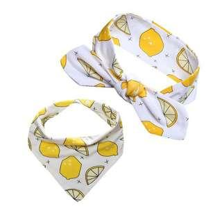FRUITS SCARF AND BANDANA FOR PETS