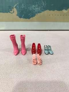 Barbie Shoes Set 2