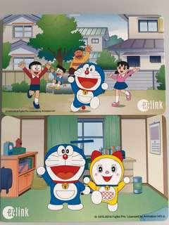 Brand new limited edition Doraemon set of 2 Ezlink cards for sale.