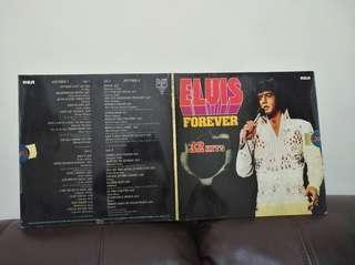 74年 Elvis  Presley Forever 32 Hits lp黑膠唱片 兩碟 德國版