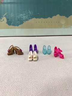 Barbie Shoes Set 1