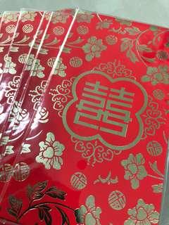 🚚 6 for $6-Red Packet 囍-Free local Mail 囍 Chinese Weddings