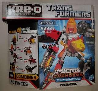 KRE-O BRICK - Transformers - Predaking (Brand New)