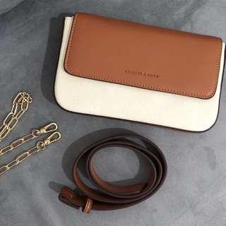 Charles & Keith - Pouch Waistbag with Chain