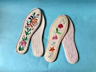 Vintage Shoe Sole 復古 中式 鞋墊