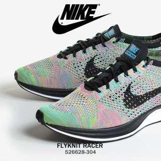 Nike Flyknit Racer Multicolor 2.0 US10
