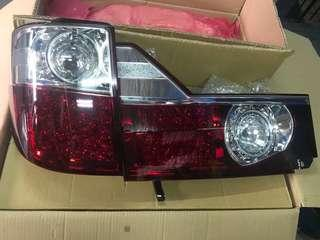 Toyota Alphard 02-05 LED Tail Lamp- Red/Clear