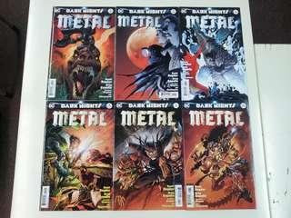 Dark Nights Metal (2017 DC) Comics Set