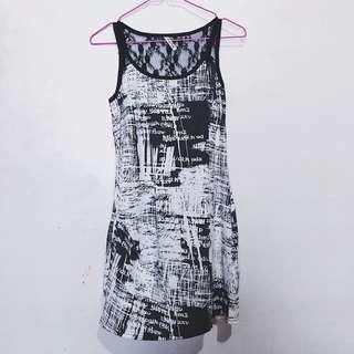 Bangkok Abstract Dress