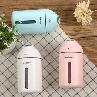 USB AROMA DIFFUSER + AIR HUMIDIFIER. FREE ESSENTIAL OIL + FREE COURIER DELIVERY to your doorstep. Home Air Purifier.