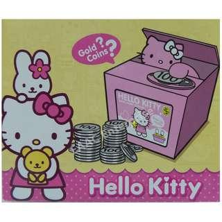 Hello Kitty Steal Coin Saving Box Bank With Music