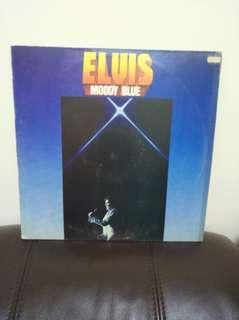 74至77年 Elvis Moody Blue lp黑膠唱片美國版