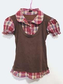 JEWELS Checkered Top