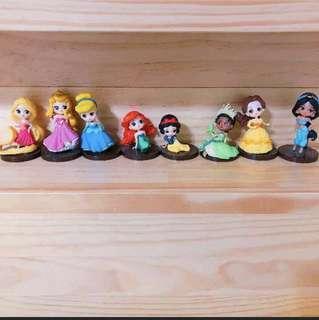 🚚 迪士尼公主公仔(8)