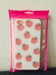 全新i7/i8Plus可愛粉色桃子全包玻璃殼