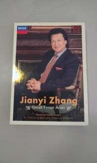 張健一 Great Tenor Arias CD+DVD
