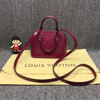 💯% Authentic LV alma Nano Epi