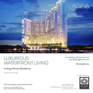 Acqua Private Residences - 3 Bedroom with Balcony at Acqua Iguazu Tower Mandaluyong City near Makati City