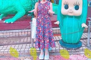 🚚 Sala古著洋裝 有兩款!