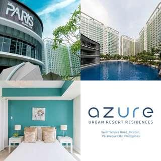 Azure Urban Resort Residences - 1 Bedroom Furnished with Balcony Condo at Bahamas Tower in Paranaque City near SM Bicutan