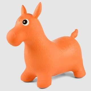 Orange Inflatable Jumping Pony