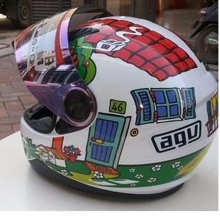 【暫時免運活動】AGV K-3 SV MOTOGP 羅西 ROSSI 烏龜 全罩 安全帽 內墨片 K3SV