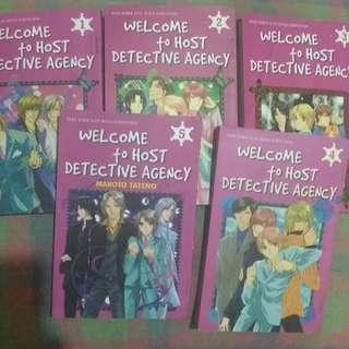 Komik Welcome to Host Detective Agency